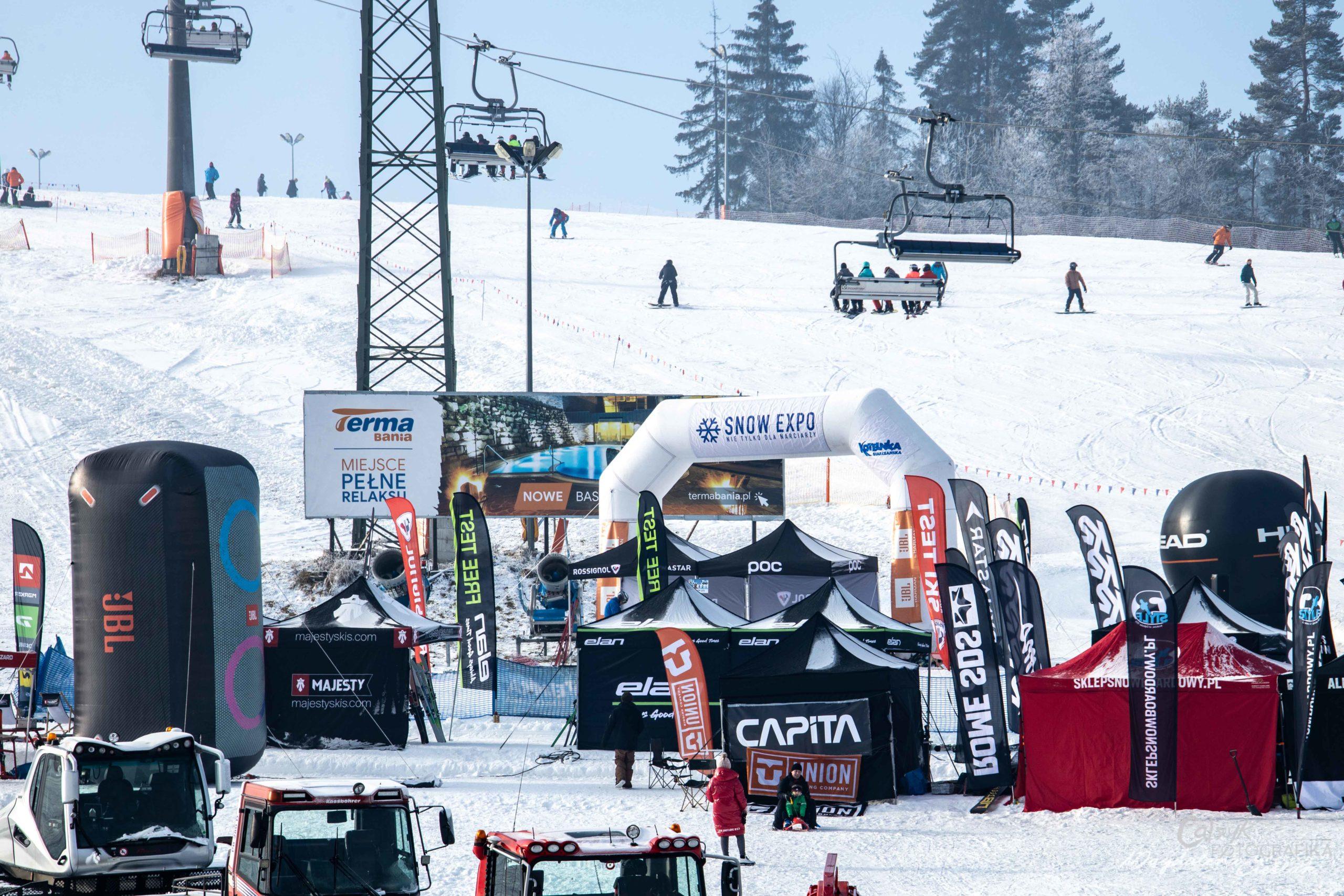 SNOW EXPO SKI TEST